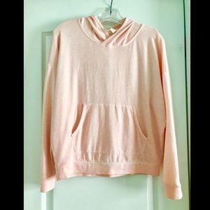 Light Pink Hooded Top